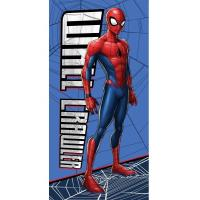 Osuška Spiderman , Barva - Modro-červená , Rozměr textilu - 70x140