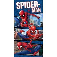 Osuška Spiderman , Barva - Modrá , Rozměr textilu - 70x140