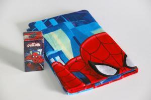 Osuška Spiderman - magická , Rozměr textilu - 70x140 , Barva - Modrá