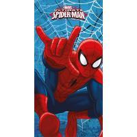 Osuška Spiderman Ultimate , Barva - Modrá , Rozměr textilu - 70x140