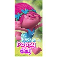 Osuška Trollovia Poppy  , Rozměr textilu - 70x140 , Barva - Ružová