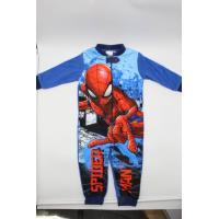 Overal Spiderman fleec , Velikost - 98 , Barva - Světlo modrá