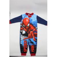 Overal Spiderman fleec , Velikost - 98 , Barva - Tmavo modrá