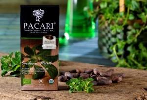 Pacari horká čokoláda s andskou mätou BIO , Velikost balení - 50g