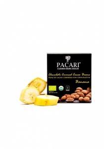 Pacari kakaové bôby banán BIO , Velikost balení - 90g
