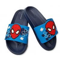 PANTOFLE SPIDERMAN , Velikost boty - 31-32 , Barva - Tmavo modrá
