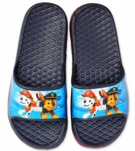Pantofle Paw Patrol , Barva - Tmavo modrá