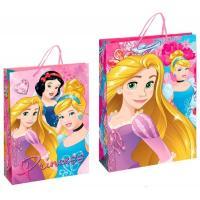 Papierová taška Princezné , Barva - Ružová
