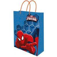 PAPÍROVÁ TAŠKA Spiderman , Barva - Modrá