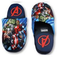 Papuče Avengers , Barva - Tmavo modrá , Velikost boty - 29-30