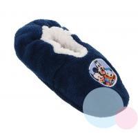 Papuče Mickey , Barva - Tmavo modrá , Velikost boty - 27-28