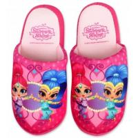 Papuče Shimmer and Shine , Velikost boty - 29-30 , Barva - Svetlo ružová