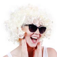 Paruka blond , Barva - Biela
