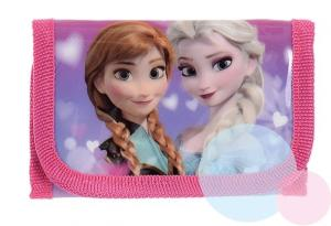 Peňaženka Frozen , Barva - Malinová