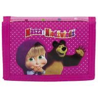 Peňaženka Máša a Medveď , Barva - Tmavo ružová