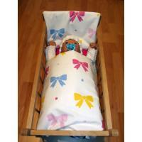Perinky do postieľky pre bábiky Mašličky