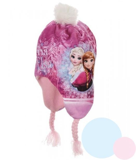 e6b5f9b18 detská čiapka frozen , Barva - Ružová , Velikost čepice - 52 ...