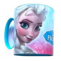 Plastový hrnček Frozen , Barva - Modrá