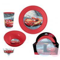 Plastový set Cars , Barva - Červená