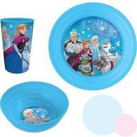 Plastový set Frozen , Barva - Tyrkysová