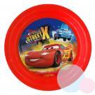 Plastový tanier Cars , Barva - Červená