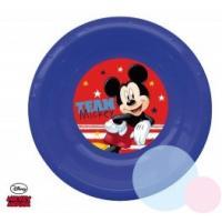 Plastový tanierik Mickey 3D , Barva - Modrá