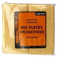 Plátky chrumkavé s amarantem BIO , Velikost balení - 100g