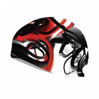 Plavecká čiapka pikasso , Barva - Černo-červená