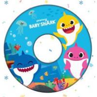 PLAVECKÝ KRUH BABY SHARK , Barva - Modrá