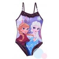 Plavky Frozen Anna a Elsa , Barva - Tmavo fialová , Velikost - 104