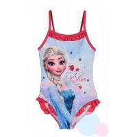 Plavky Ľadové Kráľovstvo Elsa , Barva - Malinová , Velikost - 128