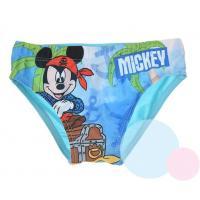 Plavky Mickey Pirát , Barva - Tyrkysová , Velikost - 98