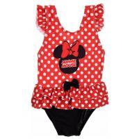 Plavky Minnie , Velikost - 86 , Barva - Červená