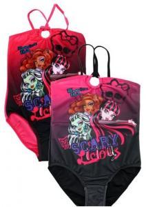 Plavky Monster High , Barva - Čierna