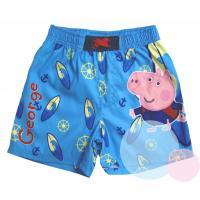 Plavky Peppa Pig George , Barva - Modrá , Velikost - 122/128