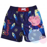 Plavky Peppa Pig George , Barva - Fialová , Velikost - 122/128