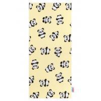Plena New Baby Panda flanel , Barva - Žltá