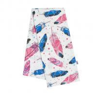 Plienka s potlačou New Baby Pierka , Barva - Růžovo-modrá , Rozměr textilu - 70x80