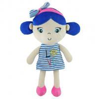 Plyšová panenka Baby Mix námořník , Barva - Modrá