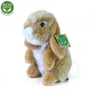 Plyšový králík 8 cm ECO-FRIENDLY , Barva - Béžová