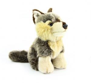 Plyšový vlk sediaci 30 cm