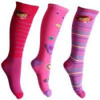 Podkolienky Doktorka plyšáková , Barva - Ružová , Velikost ponožky - 31-34