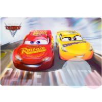 Podložka Car 3D , Barva - Červeno-žltá