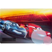 Podložka Cars 3D , Barva - Červeno-modrá