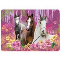 Podložka Kone , Barva - Ružová