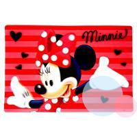 Podložka Minnie 3D , Barva - Červená