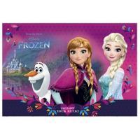 Podložka Disney Frozen , Barva - Tmavo ružová
