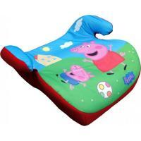 Podsedák do auta 15-36kg Prasiatko Peppa Pig , Barva - Modro-zelená