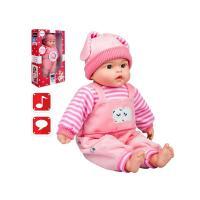 Poľsky hovoriaci a spievajúci detská bábika Playtech Agatka , Barva - Ružová