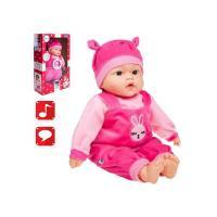 Poľsky hovoriaci a spievajúci detská bábika Playtech Zosia , Barva - Ružová